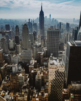Tableau en Alu Top of The Rock, New York